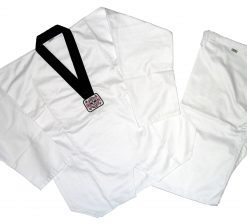 Taekwondo DoBok - Poly/Cotton - Black Collar