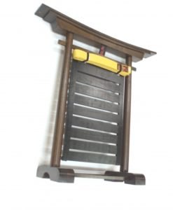10 tier free standing belt rack