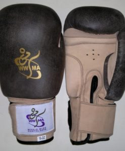 WWMA boxing gloves retro style