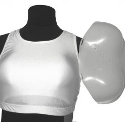 Female Chest Protector - Crop Top Style