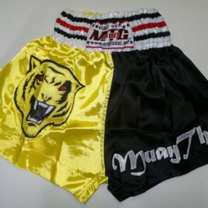 MTG Shorts Yellow Black Tiger