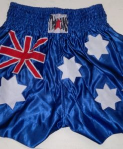 Thai King Muay Thai Shorts- Australian Flag