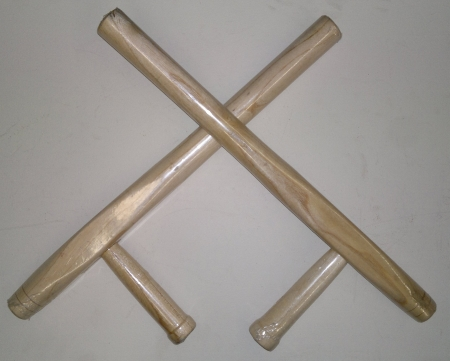 tonfa natural wood