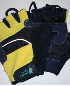 Fingerless Cycle Gloves Sweat Central Leather Base, fingerless