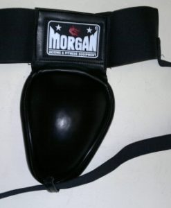 Morgan Muay Thai Black Metal Groin Guard