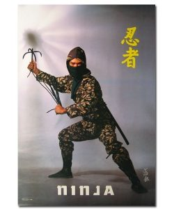 Ninja Grappling Hook Poster