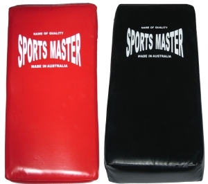 Curved Kick Shield - SportsMaster - Black or Red