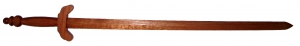 Wooden Tai Chi Sword with ridges on handle