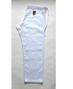 fuji victory karate pants white