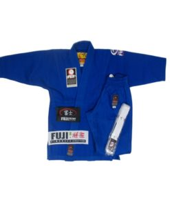 FUJI victory kids karate uniform blue