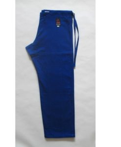 fuji victory karate pants blue