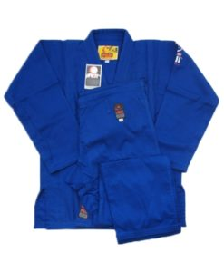 fuji victory karate uniform blue