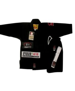 FUJI victory kids karate uniform black