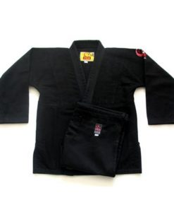 fuji victory karate uniform black
