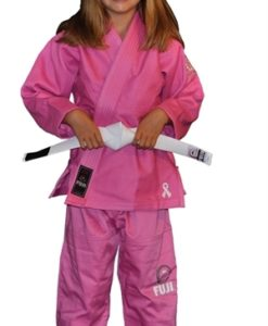 FUJI victory kids karate uniform pink