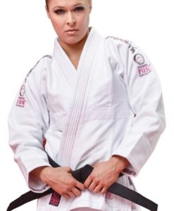 FUJI victory womens karate uniform white