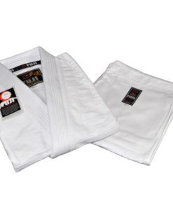 fuji summer karate uniform white