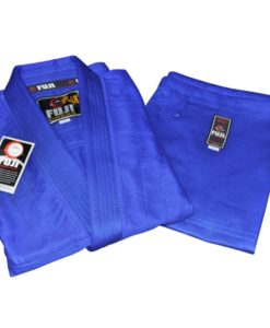 fuji summer karate uniform blue