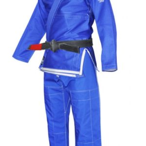 fuji sekai karate uniform blue