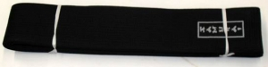Grading Belt - Black Extra wide 9cm