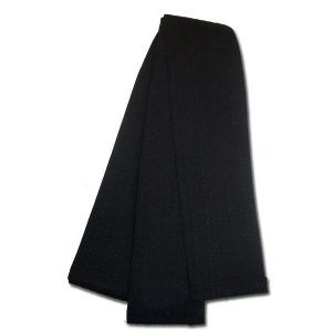 Warrior Obi Cotton Black Belt