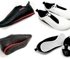 Choson - Karate & Taekwondo Shoes - White & Black