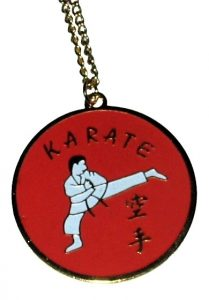 Karate Kick Necklace