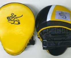 Focus Mitts Yellow. Pair