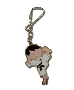 karate kick key chain