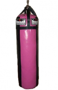 Morgan - 'Ladies' Punch Bag - Pink/Black