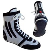"MORGAN ""HIGH PERFORMANCE"" MEDIUM CUT BOXING SHOES"