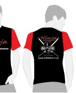 tshirt black red