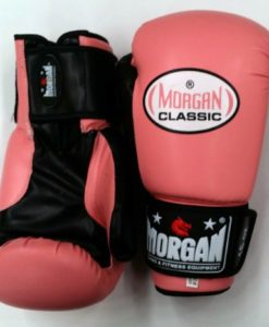 morgan classic boxing gloves pink