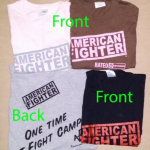 american fighter shirts