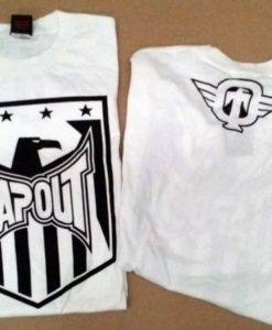 tapout shirt white