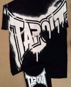 tapout shirt and beanie