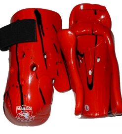 Dipping Hand Mitts- Long - Red & Black