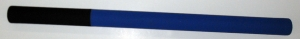 Kali stick - Foam - Black/Blue - Single stick
