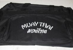 Martial Arts Equipment Bag Muay Thai - White Text