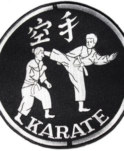 "Karate Jacket 8"" (Black, White)"