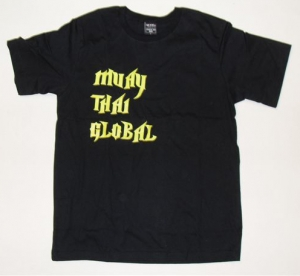 MTG Print T-shirt - Black. Knock 'Em Out
