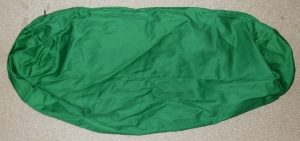 Cotton Yoga Bolster Cover- Green