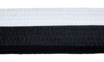 Grading Belt - Half Black/White
