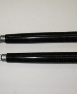Nunchaku Ribbed Black Ball-bearing