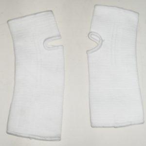 Ankle Support- Elastic- White