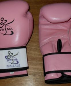WWMA boxing gloves pink