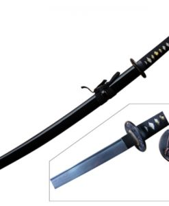 hand forged and folded steel shogun katana samurai sword
