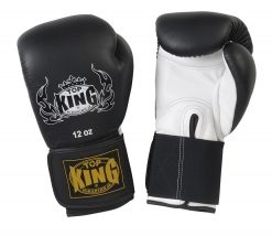 Top King 'Pro' Boxing Gloves - Black