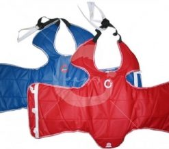 TKD chest and body protector - Blue & Red Pair