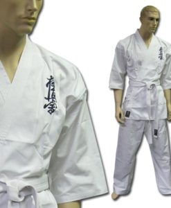 karate uniform white Kyokushin 8oz Student Gi